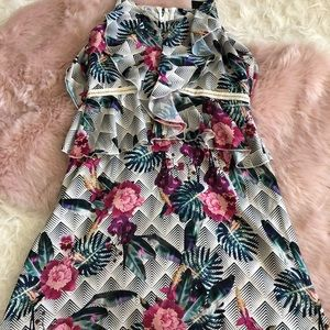 Marciano Geometric Flower Dress Girls size 7